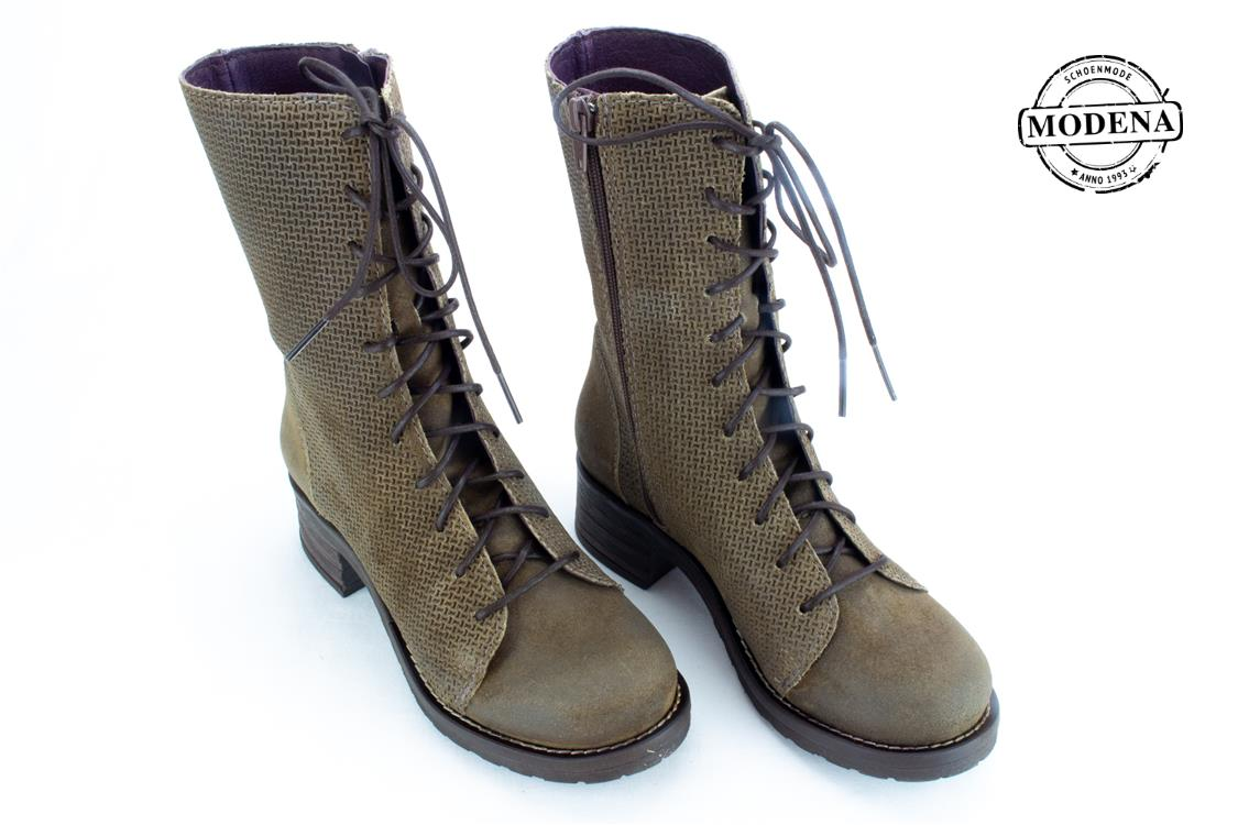 Modena schoenmode - military - taupe military